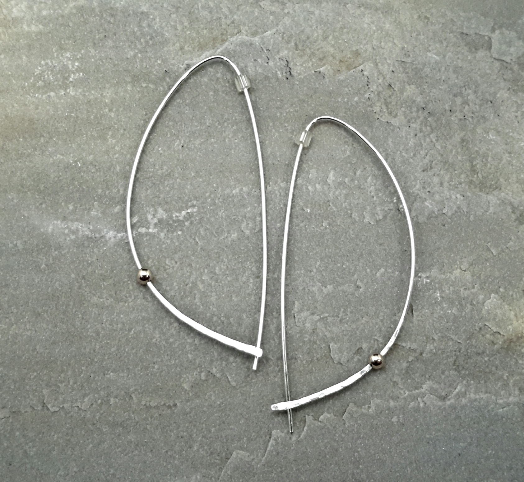 Half Hoop Earrings W Bv1