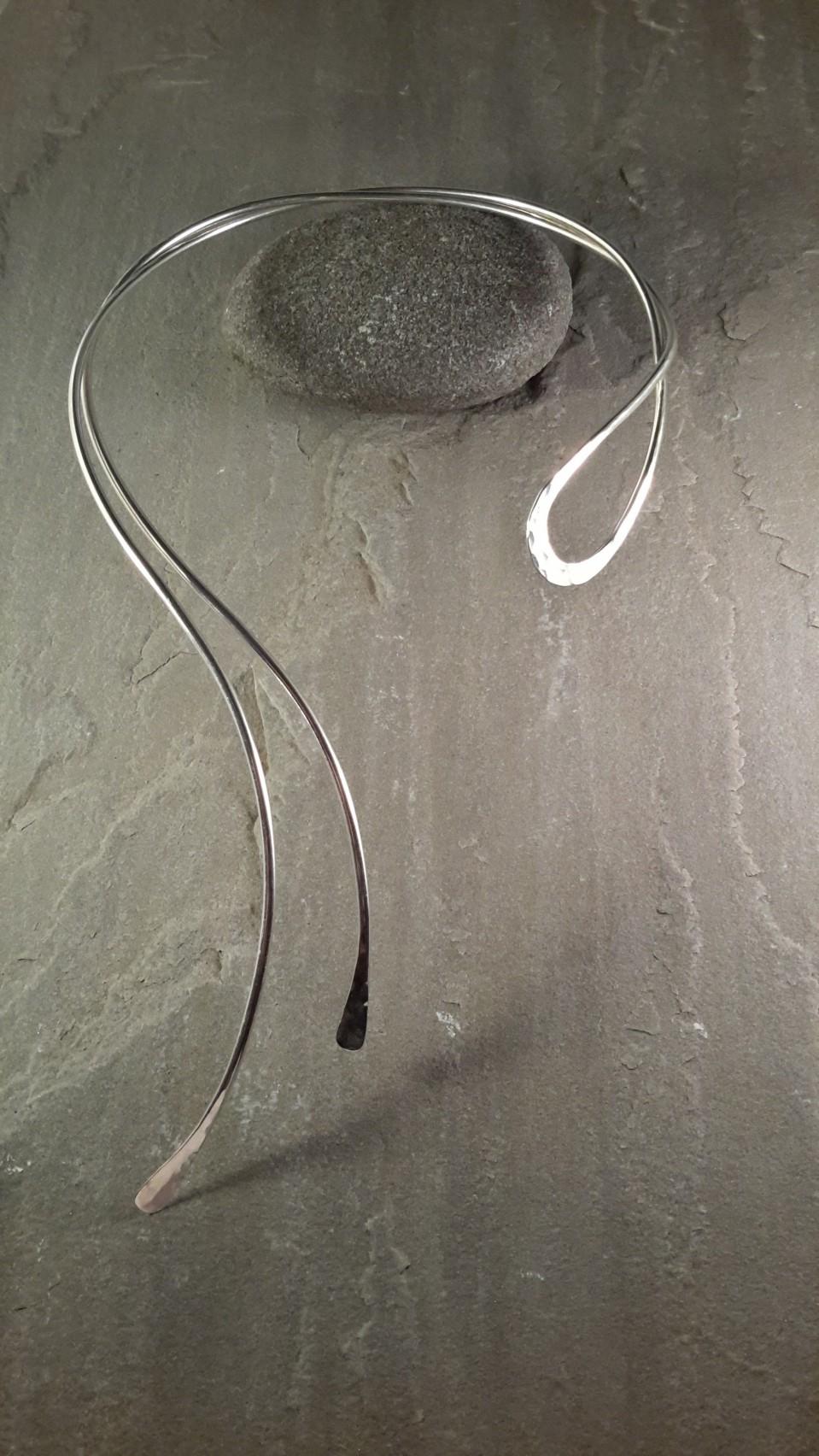 Double Swirl Necklace - #N7